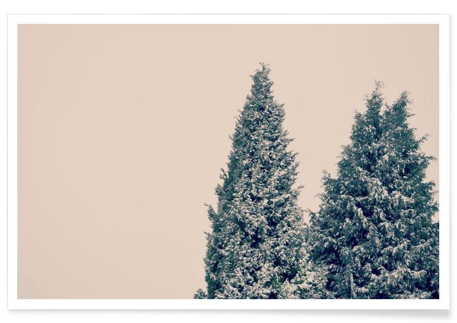 Trees, Allis Calm Poster