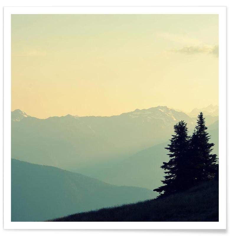 Berge, What A Wonderful World -Poster