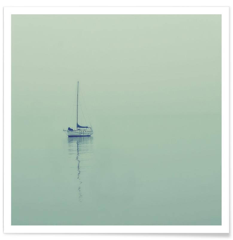 Ocean, Lake & Seascape, Boats, Eternal Poster