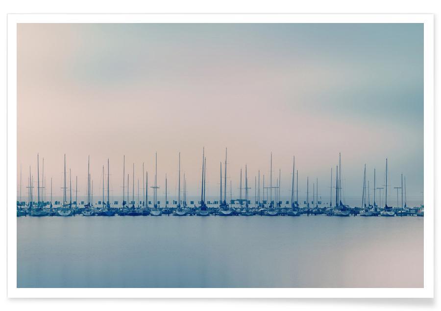 Oceanen, zeeën en meren, Boten, Sails poster