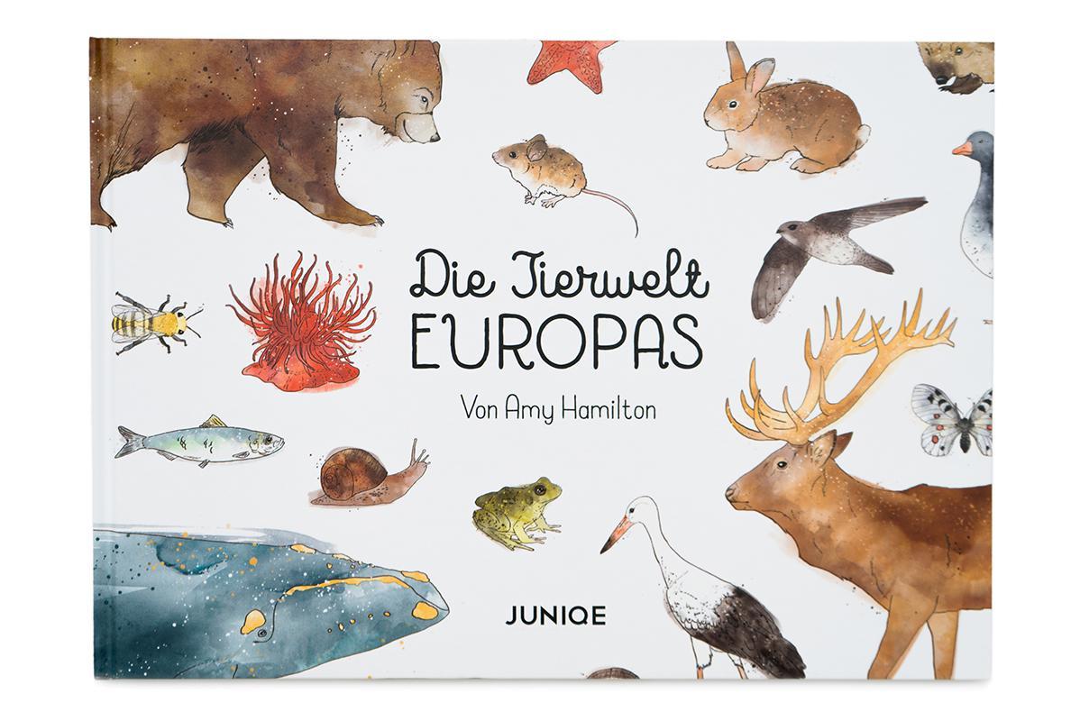 Die Tierwelt Europas Children's Book