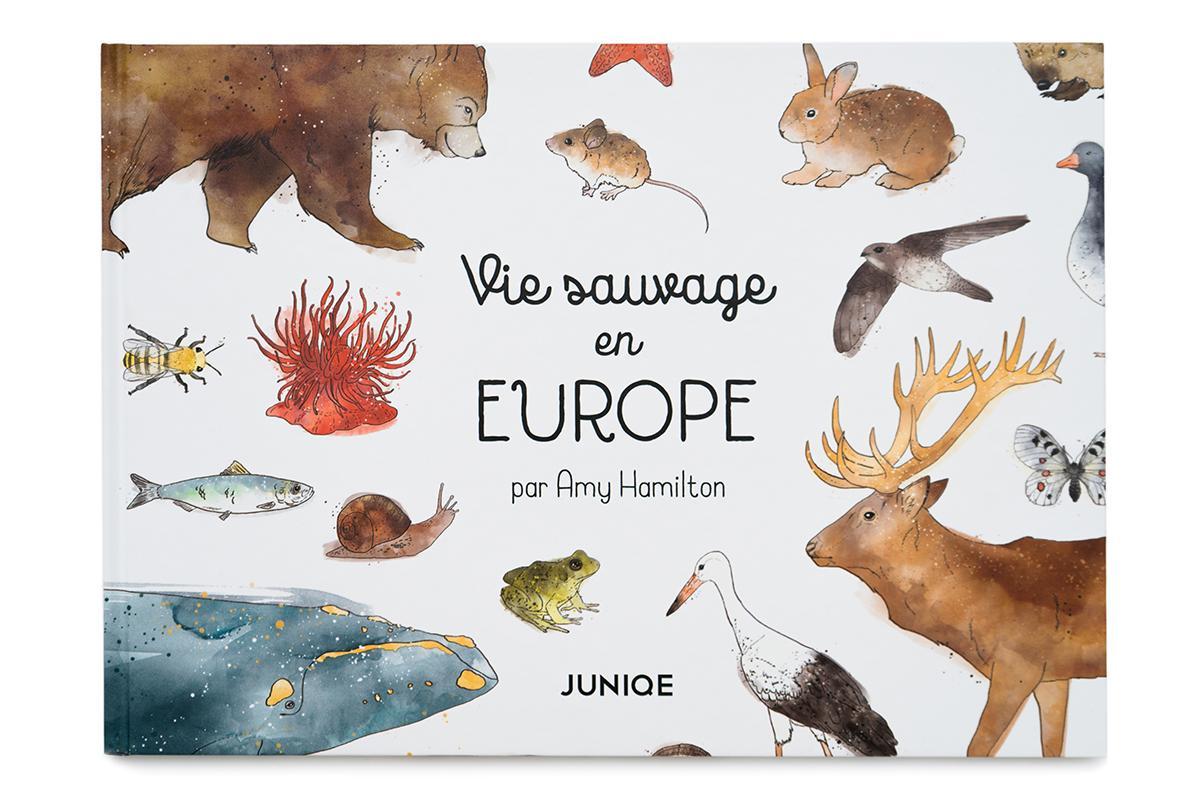 , Vie sauvage en Europe Livre pour enfant