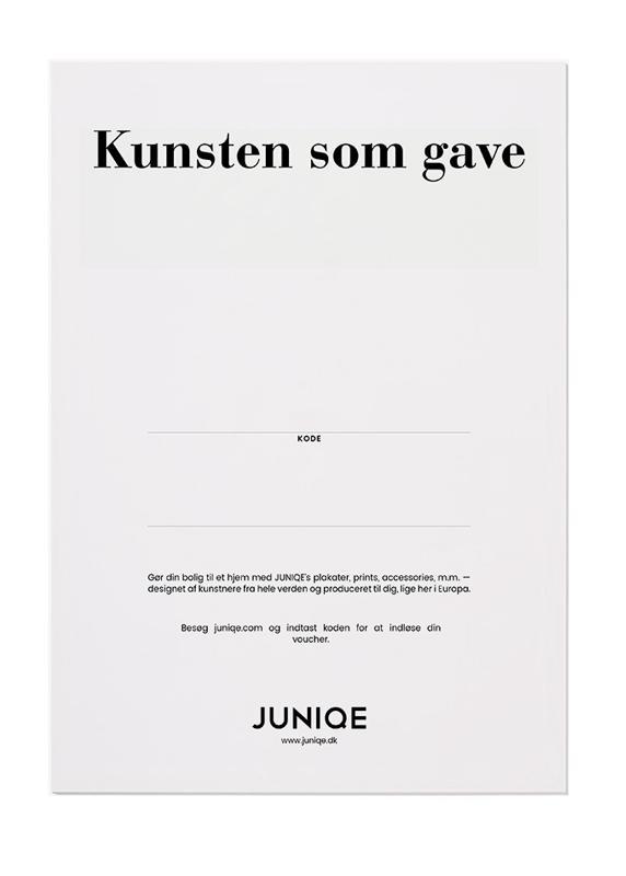, JUNIQE - Digitale gavekort