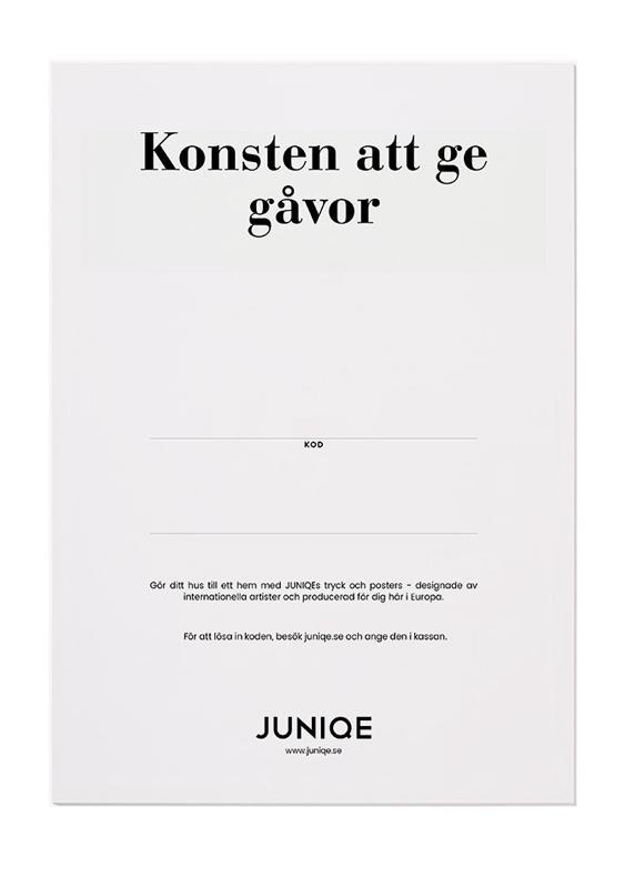 , JUNIQE - Digitala presentkort